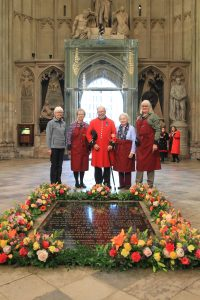 A Service of Commemoration and Thanksgiving on Remembrance Sunday was held on the centenary of the end of the 1WW at Westminster Abbey, London. The service was led by The Dean of Westminster, The Very Reverend Dr John Hall.