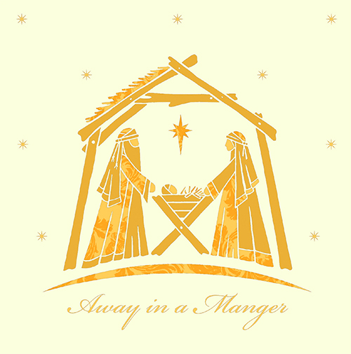SC12-52178 Away in a Manger - Cream-1 low res